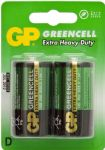 GP BATTERIES 'Greencell'- D - Box of 20